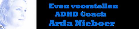 ADHD coach Arda Nieboer stelt zich voor