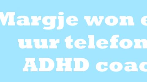 Gratis consult ADHD coaching gewonnen