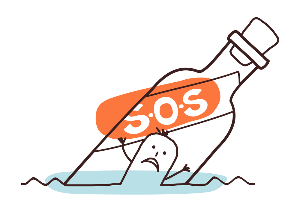 SOS-ADHD-oproep-mannetje